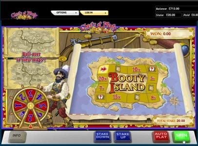 Chests of Plenty slot game booty island