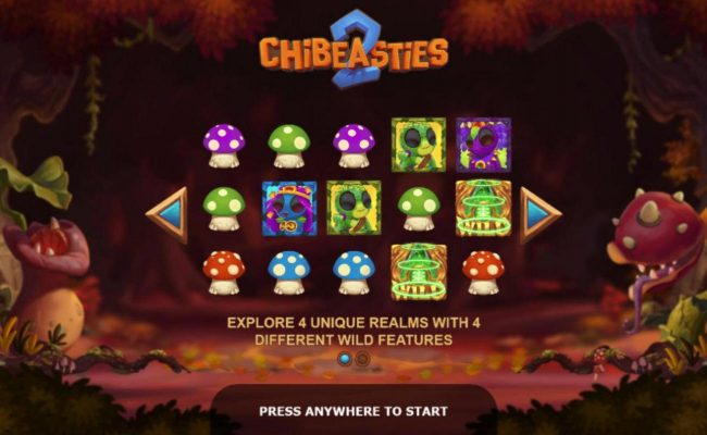 Chibeasties 2 :: Explore 4 unique realms with 4 different wild features.