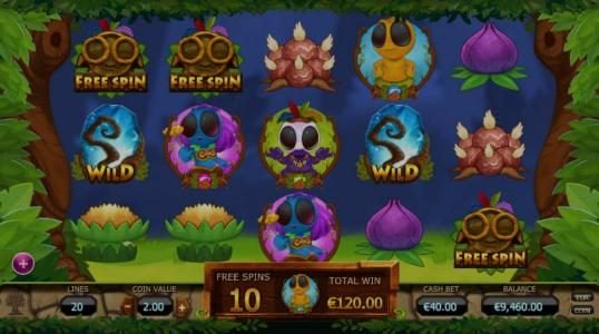 Thrills featuring the Video Slots Chibeasties with a maximum payout of $1,500