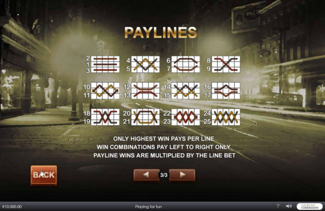 Chicago Streets :: Paylines 1-25