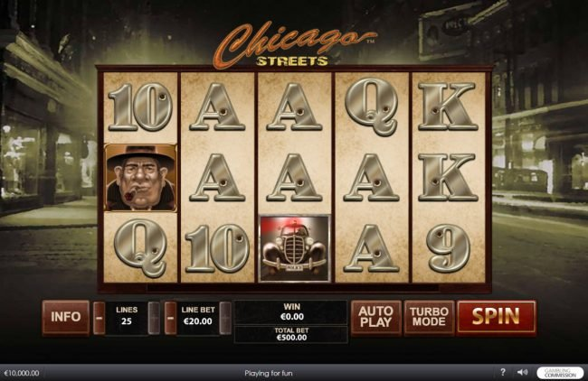 Grand Reef featuring the Video Slots Chicago Streets with a maximum payout of $500,000