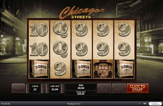 Chicago Streets :: Scatter win triggers the free spins feature