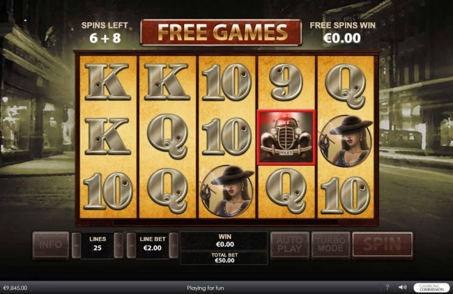 MANSION featuring the Video Slots Chicago Streets with a maximum payout of $500,000