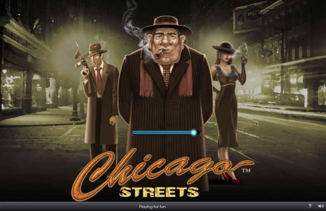 William Hill Casino Club featuring the Video Slots Chicago Streets with a maximum payout of $500,000