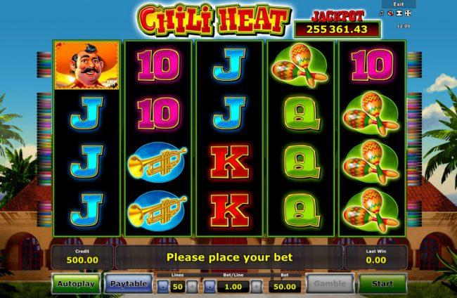 Chili Heat :: Main Game Board