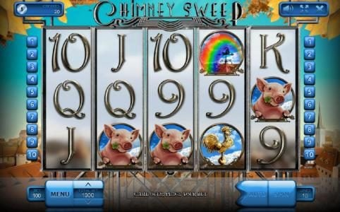 Play slots at Kingbit Casino: Kingbit Casino featuring the Video Slots Chimney Sweep with a maximum payout of $900,000