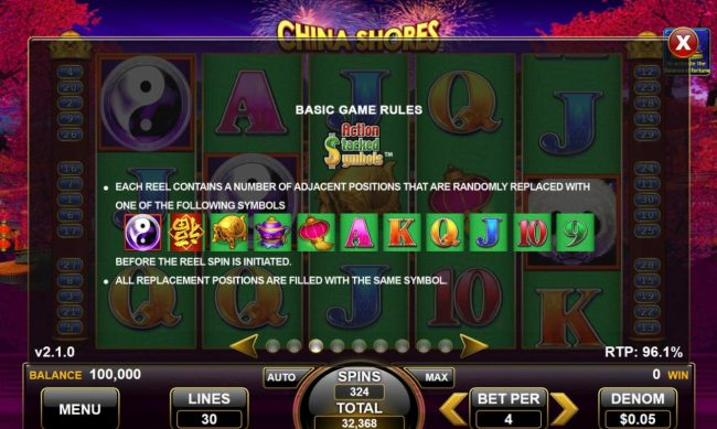 Coyote Valley Casino - Lotus Touch Slot