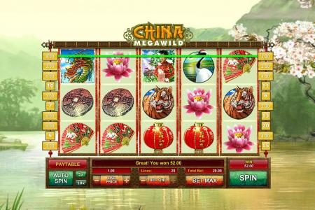 Play slots at Casdep: Casdep featuring the Video Slots China MegaWild with a maximum payout of $2,500