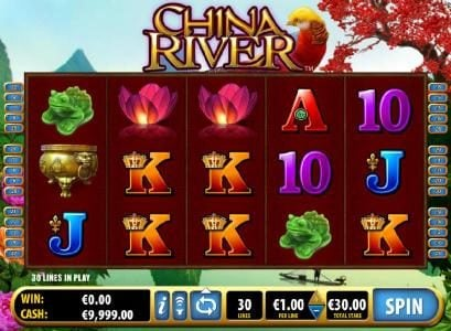 Play slots at Slots Angel: Slots Angel featuring the Video Slots China River with a maximum payout of $1,000