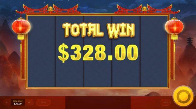 Chinese Treasures :: Total Bonus Win 328.00