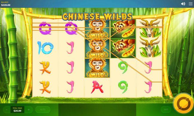 Chinese Wilds :: Multiple winning paylines