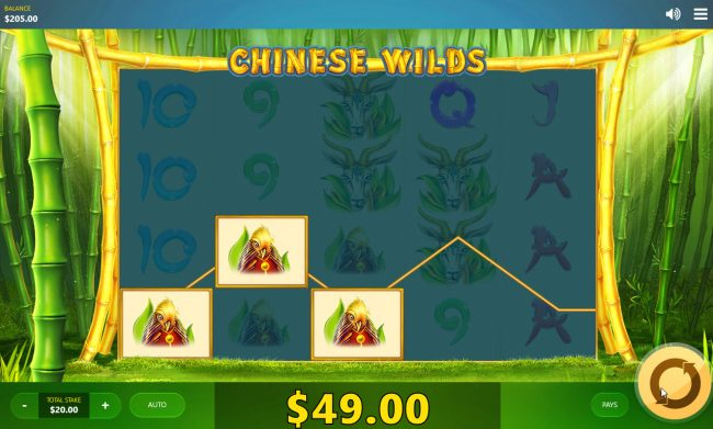 Chinese Wilds :: A winning three of a kind