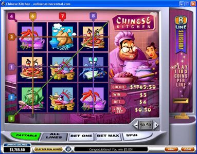 Tropez featuring the Video Slots Chinese Kitchen with a maximum payout of $60,000
