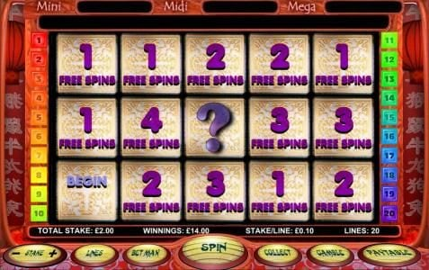 26 free spins awarded