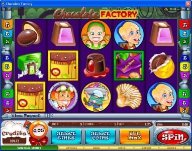 Play slots at Trada: Trada featuring the Video Slots Chocolate Factory with a maximum payout of $20,000