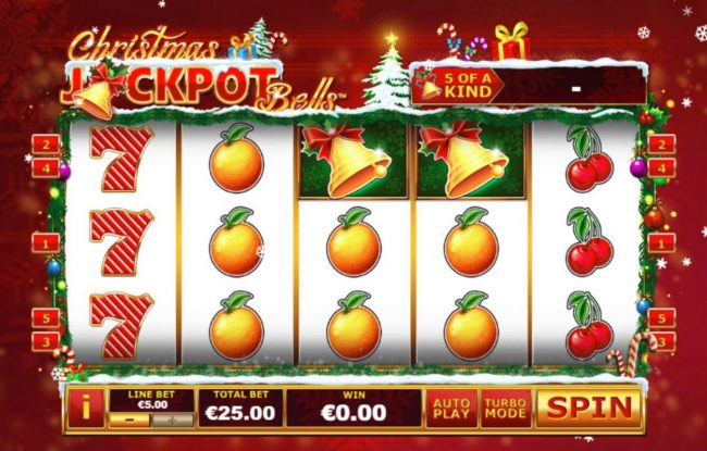 Play slots at Unleashed: Unleashed featuring the Video Slots Christmas Jackpot Bells with a maximum payout of $37,500