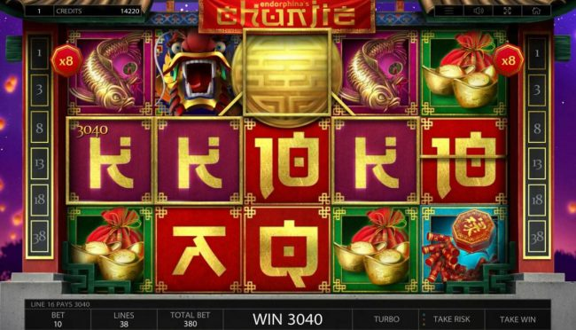 Play slots at Crystal: Crystal featuring the Video Slots Chunjie with a maximum payout of $337,440