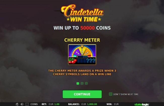 Cinderella Win Time :: Introduction