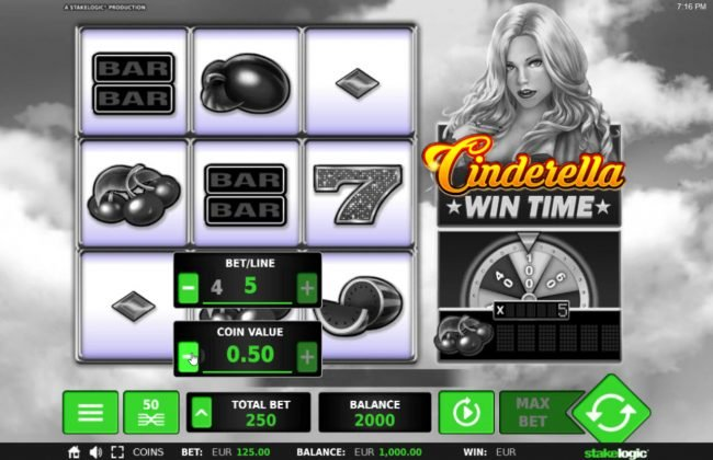 Cinderella Win Time :: Betting Options