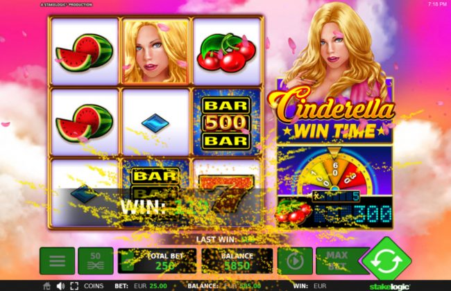 Cinderella Win Time :: Big Win