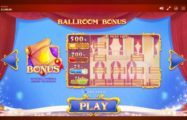Play slots at Crazy vegas: Crazy vegas featuring the Video Slots Cinderella's Ball with a maximum payout of $300,000