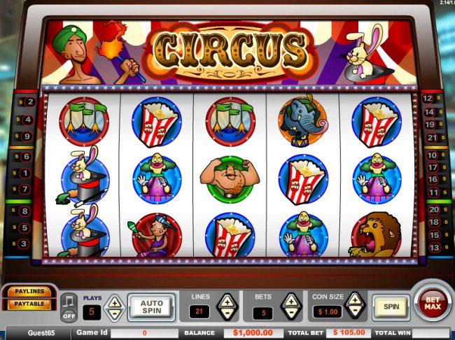 Circus :: Main Game Board