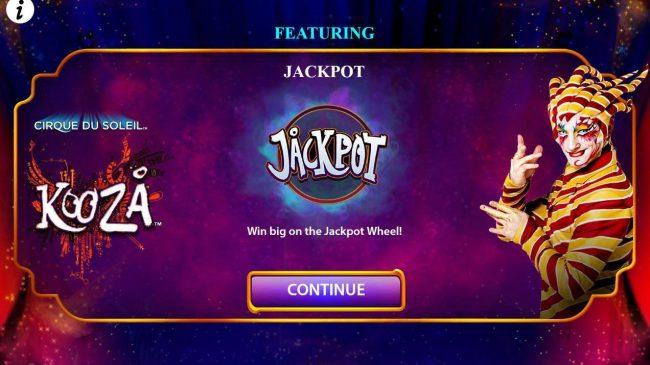 Win big on the Jackpot Wheel!