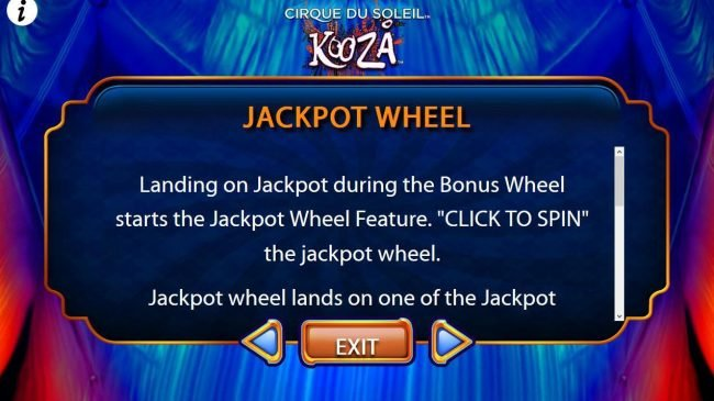 Jackpot Wheel Game Rules