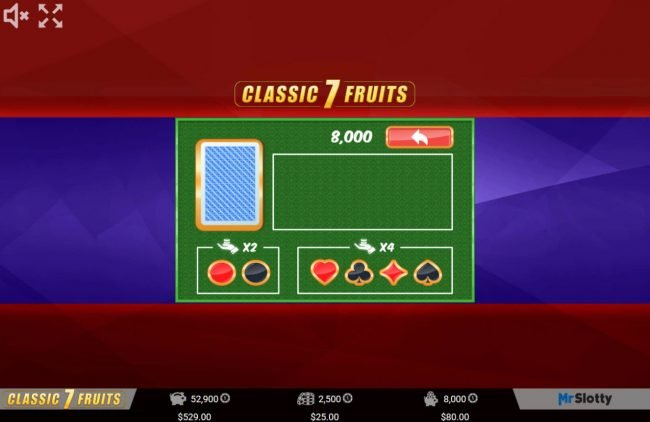 VipSpel featuring the Video Slots Classic 7 Fruits with a maximum payout of $200,000