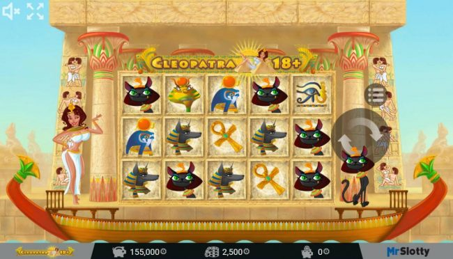 Play slots at Jellybean Casino: Jellybean Casino featuring the Video Slots Cleopatra 18+ with a maximum payout of $200,000
