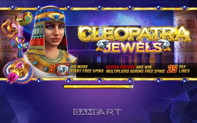 Play slots at Harrys Casino: Harrys Casino featuring the Video Slots Cleopatra Jewels with a maximum payout of $2,500