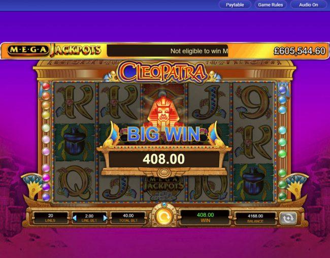 Cleopatra - Mega Jackpots :: Big Win