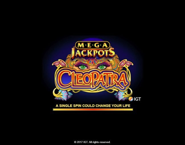 Moon Games featuring the Video Slots Cleopatra - Mega Jackpots with a maximum payout of $250,000