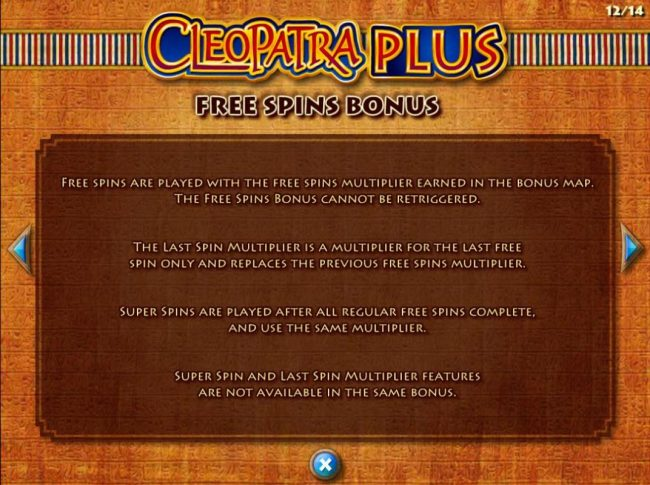 Casino Club featuring the Video Slots Cleopatra Plus with a maximum payout of $250,000