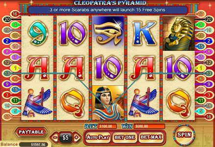 Cleopatra's Pyramid ::