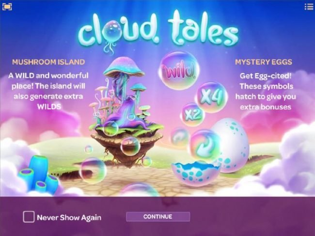 Play slots at emu Casino: emu Casino featuring the Video Slots Cloud Tales with a maximum payout of $4,000
