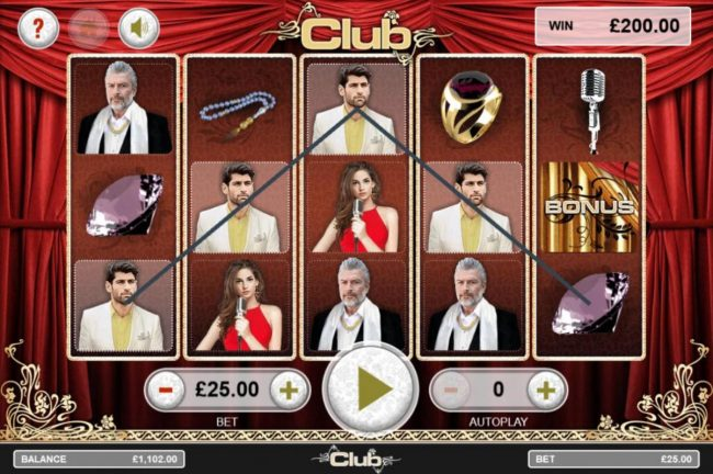 Club :: A winning Five of a Kind.