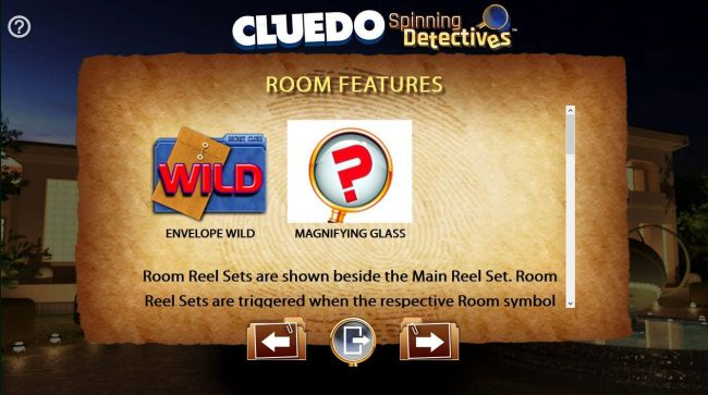 Cluedo Spinning Detectives :: Room Features