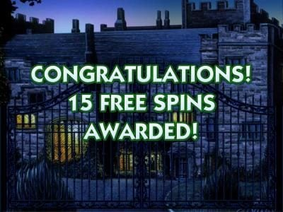 Cluedo - Classic :: 15 free spins awarded