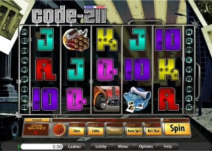 Jupiter Club featuring the Video Slots Code-211 with a maximum payout of $15,000