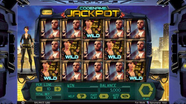 Codename: Jackpot :: Main Game Board
