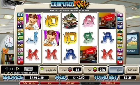 Play slots at Hyper Casino: Hyper Casino featuring the video-Slots Computer Rage with a maximum payout of 5,000x