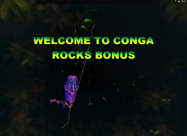 Conga Rocks Bonus randomly triggered