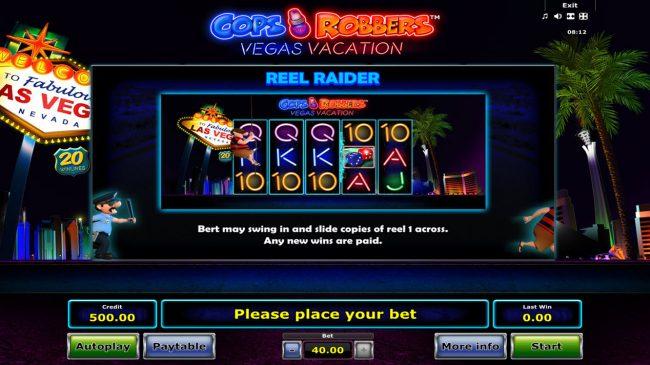 Cops 'n' Robbers Vegas Vacation :: Reel Raider