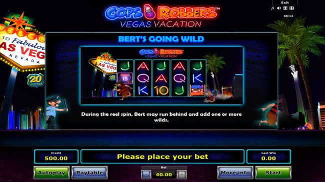 Cops 'n' Robbers Vegas Vacation :: Goling Wild