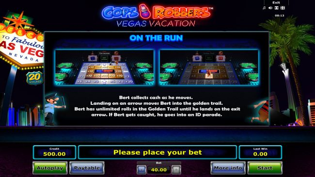 Cops 'n' Robbers Vegas Vacation :: On the Run