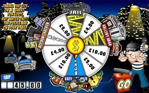 Next spin lands on the Safe Cracker Bonus Feature