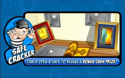 Crack open a safe to reveal a cash prize