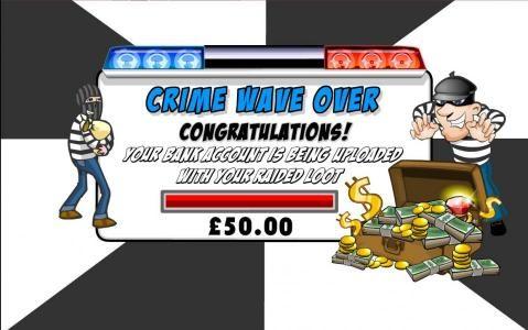 Crime Bonus Feature Pays Out $50