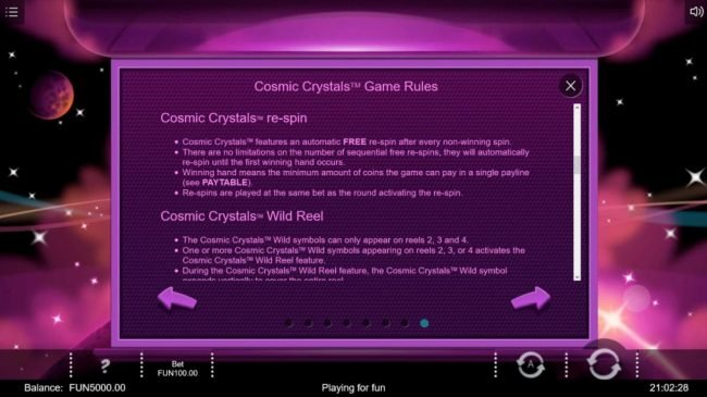 Cosmic Crystals :: Re-Spin Rules